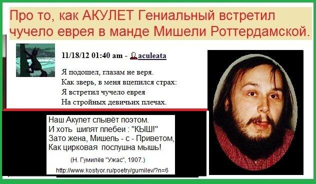 Акулета, Фридман, Вербицкая, Мишель, ЛЖР