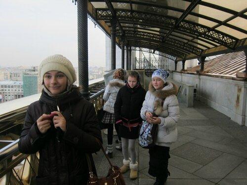 Паломническая поездка пироговского молодёжного центра  в храм Христа Спасителя 2012