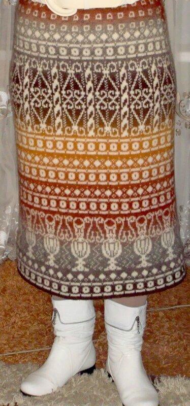 Юбка перуанка из кауни