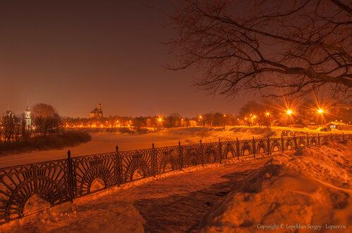 Ночная Вологд