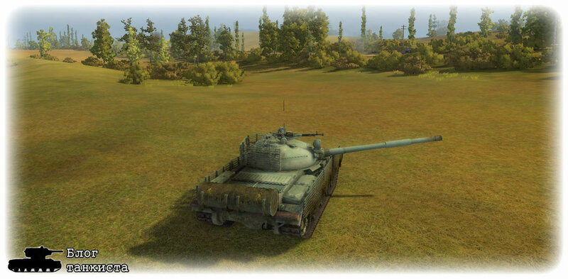 Ремоделинг танка Т-62А №2