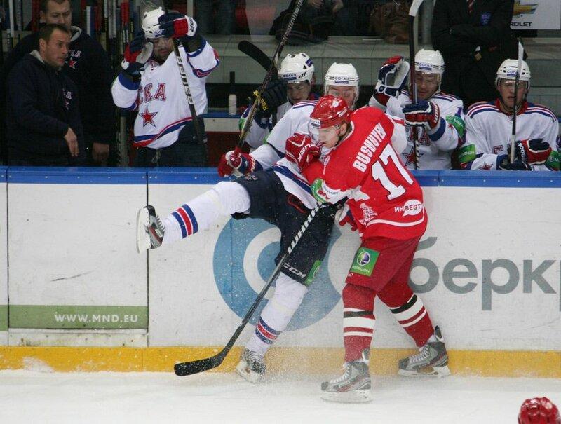 «Спартак» vs СКА 6:1 чемпионат КХЛ 2012-2013 (Фото)
