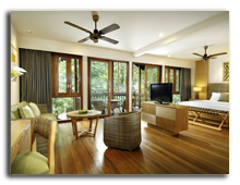 Малайзия. Лангкави. BerjayaLangkawi_Rainforest_Studio_-_Living_Area_Side_View