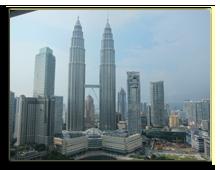 Малайзия. Куала-Лумпур. Traders Hotel Kuala Lumpur. Deluxe Twin Towers View