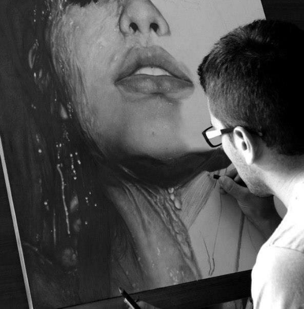 Фотореалистичные рисунки карандашом от Диего Фацио