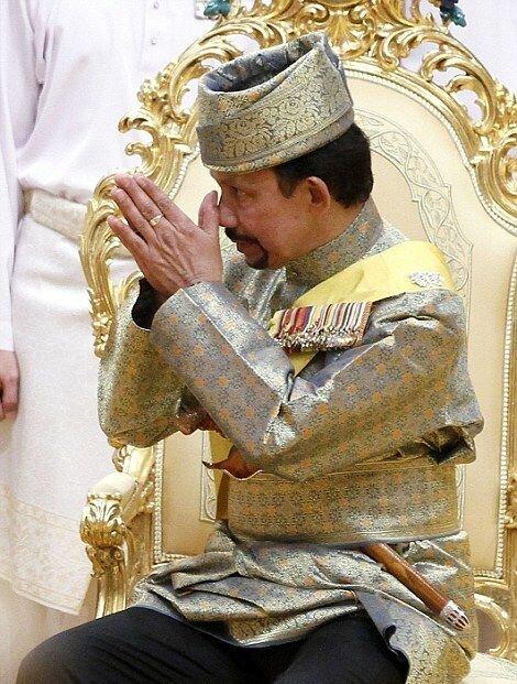 Свадьба дочери султана Брунея
