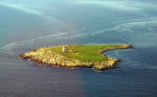 Макиас-Сил - маленький остров в заливе Мэн.