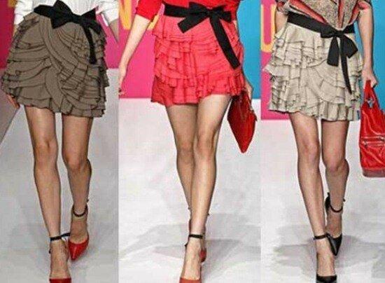 Как рассчитать правильную длину юбки