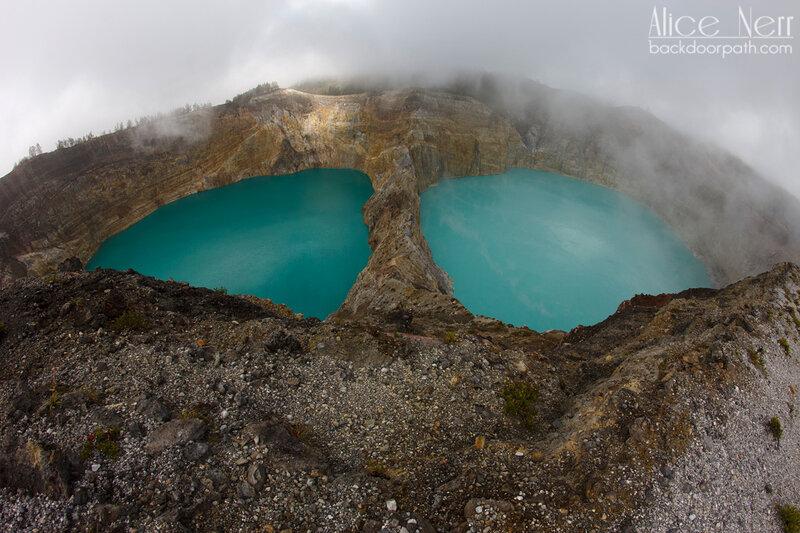озера Келимуту, Флорес, Индонезия