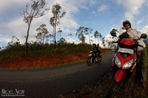 дорога на острове Флорес, Индонезия