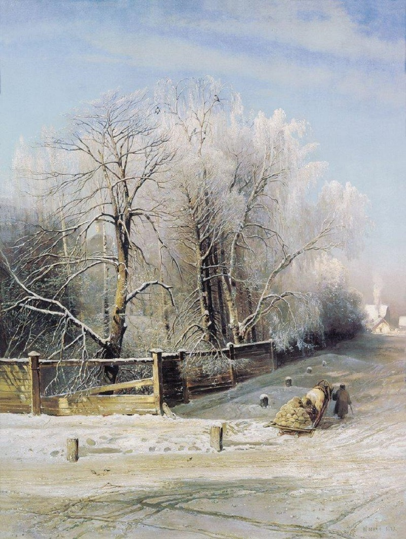 Зимний пейзаж. Москва. 1873.jpg