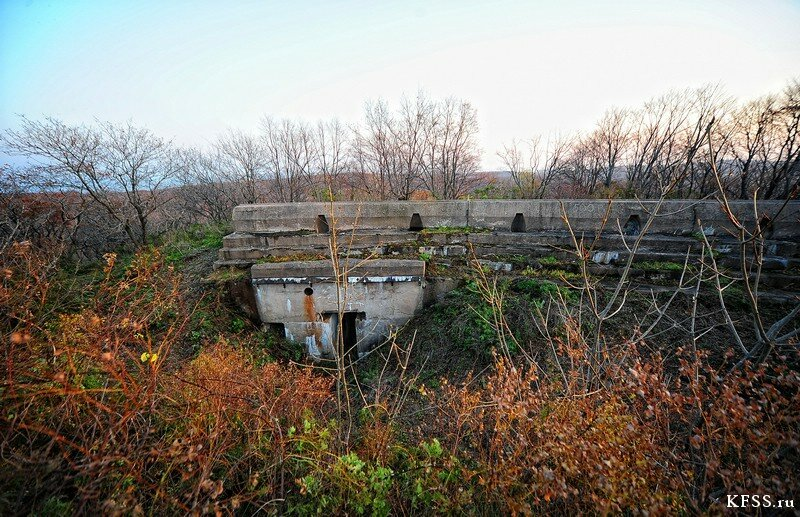 Форт №12 Владивостокской крепости kfss левый вход в подбрустверную галерею правого редута