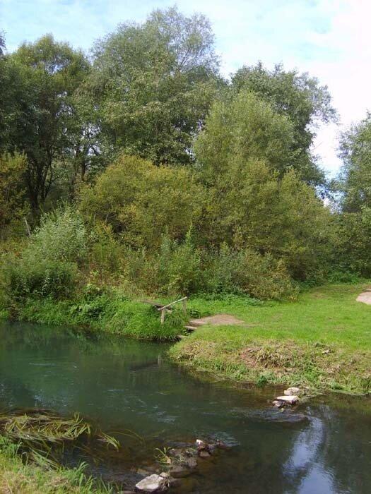 Подмосковная Швейцария река Сторожка
