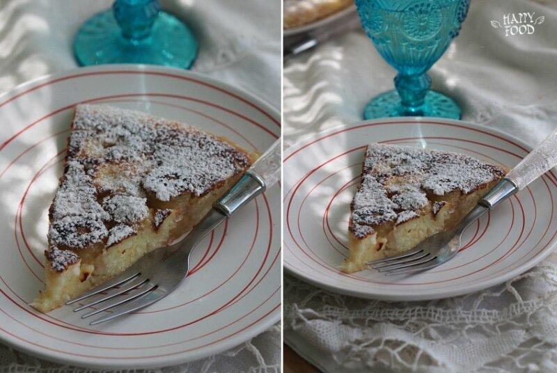 Кокосовый пайнкейк на рисовой муке с карамелизированными бананами (готовлю с посудой iCookTM)