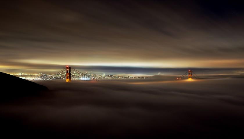 Красивые фотографии тумана в Сан Франциско, США 0 14227a bfcb6dd4 orig