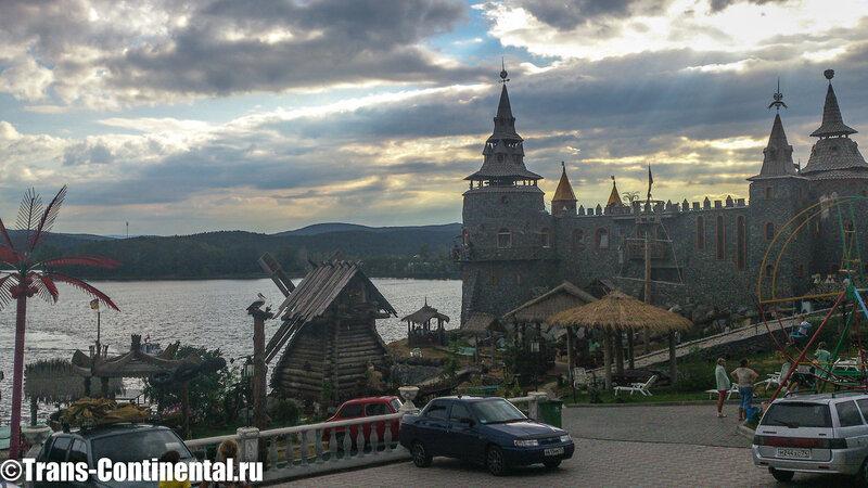 Замок в Сонькиной Лагуне