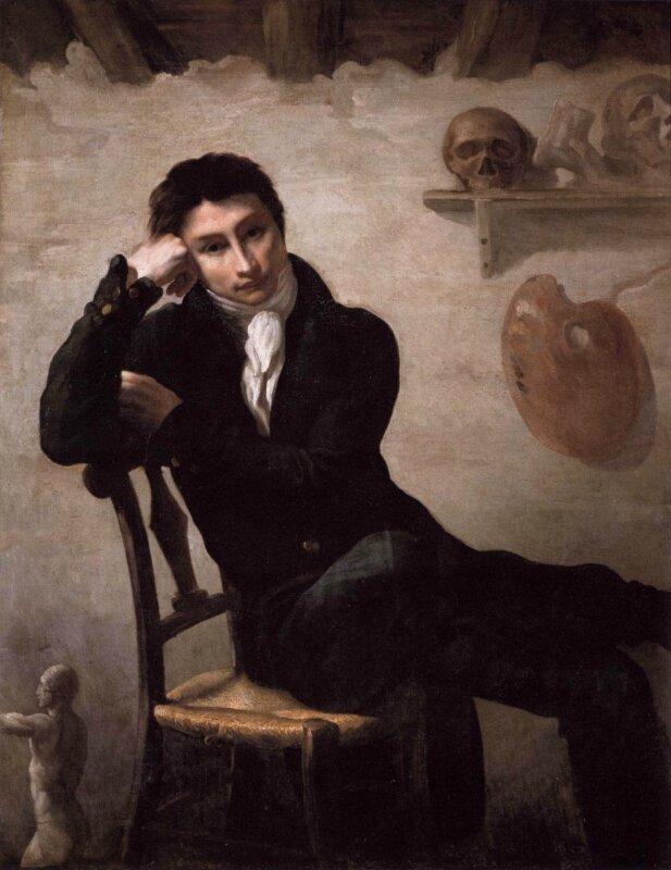 Жерико. Портрет молодого человека