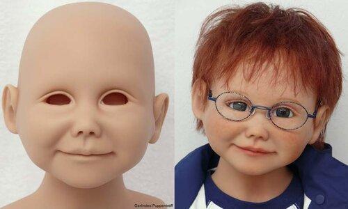 Реберн - живые куклы