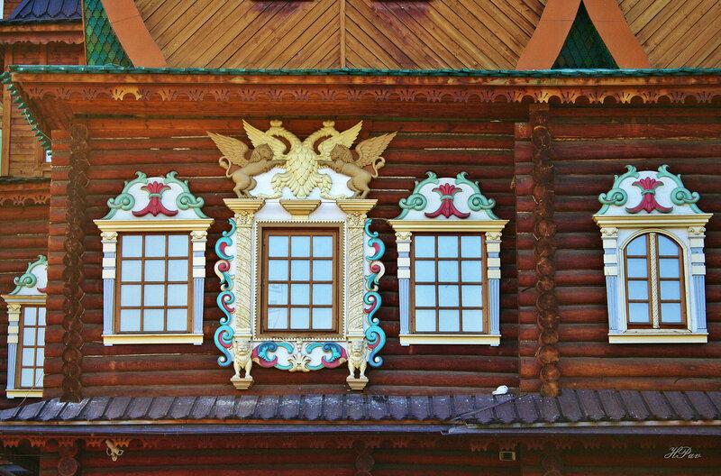 Окна царских палат. Коломенское