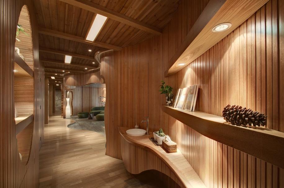 Клуб здоровья от Crox International в Ханчжоу, Китай