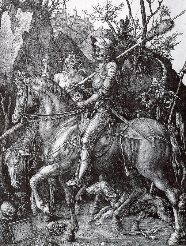 Альбрехт Дюрер, Рыцарь, Смерть и Дьявол
