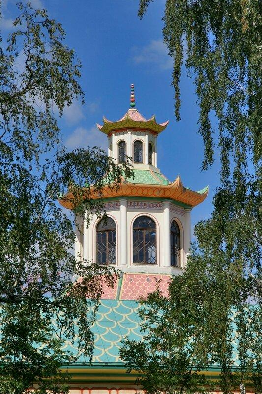 Китайская деревня в Царском Селе