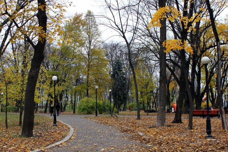 Мариинский парк в ноябре