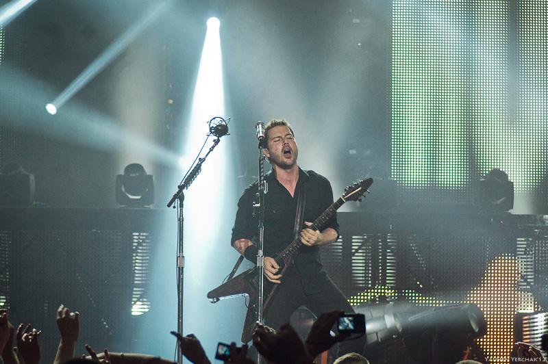 Nickelback в Минске, photo, фото