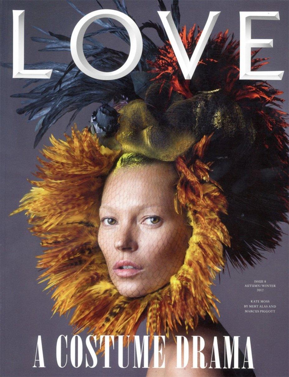 Кейт Мосс / Kate Moss - Fawnicate by Mert - Marcus in LOVE Magazine fall-winter 2012