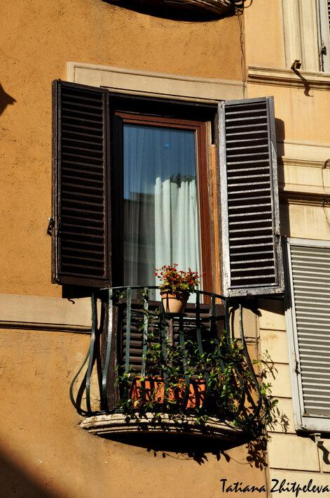 римское окно