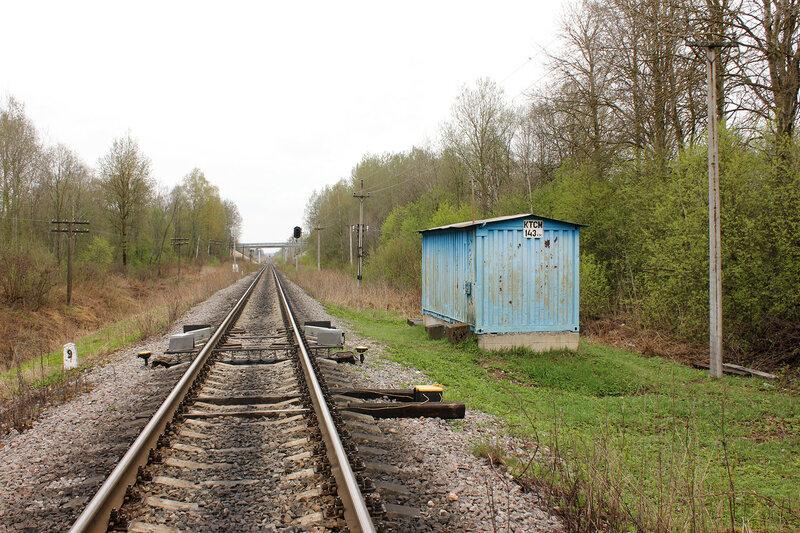 КТСМ 143 км на перегоне Рождествено - Ржев-Балтийский