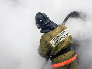 Пожар на свалке в Биробиджане не могут потушить уже третьи сутки