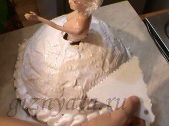 кукла-торт