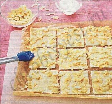 слоеные пирожные
