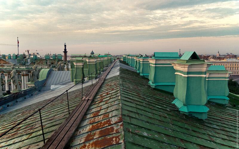 Как делали отопление для Зимнего дворца