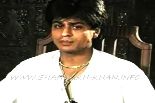 Shahrukh Khan - old interview