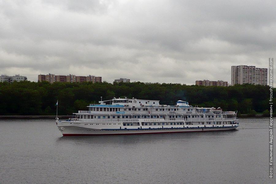 22 мая 2008 года. Химкинское водохранилище. Теплоход «Президент»