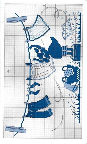 Вышивка схем морские маленькие