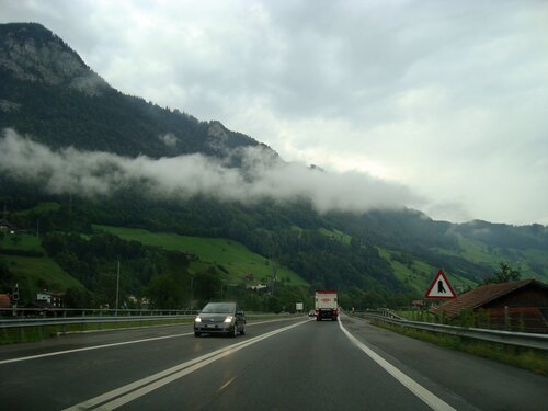 По дороге на Страсбург