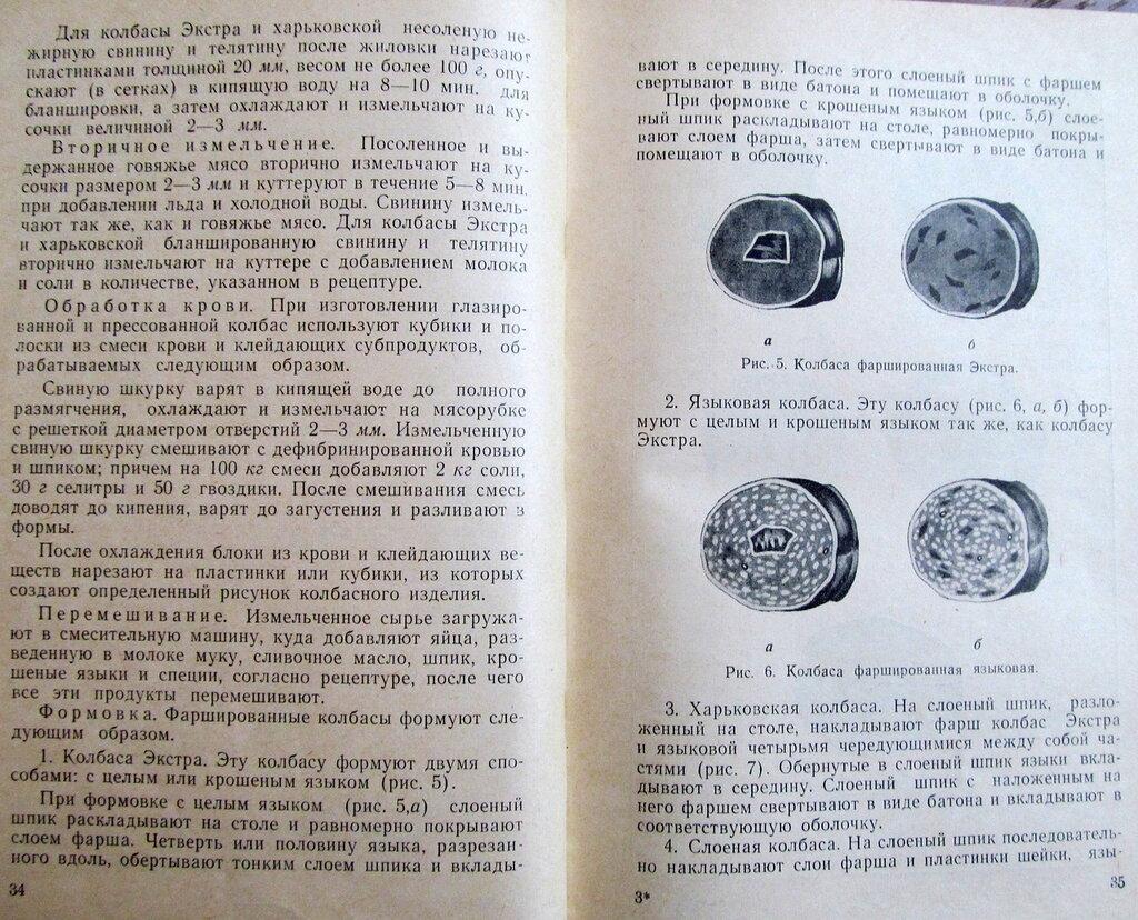 Технологический Сборник Рецептур Колбасных Изделий и Копченостей
