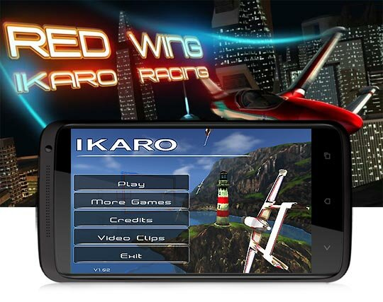 Игра Red Wing Ikaro Racing на Android OS