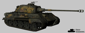 Ремоделинг танка Королевский тигр