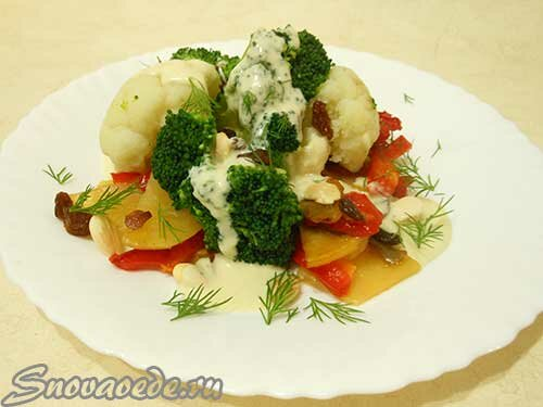 брокколи и цветная капуста