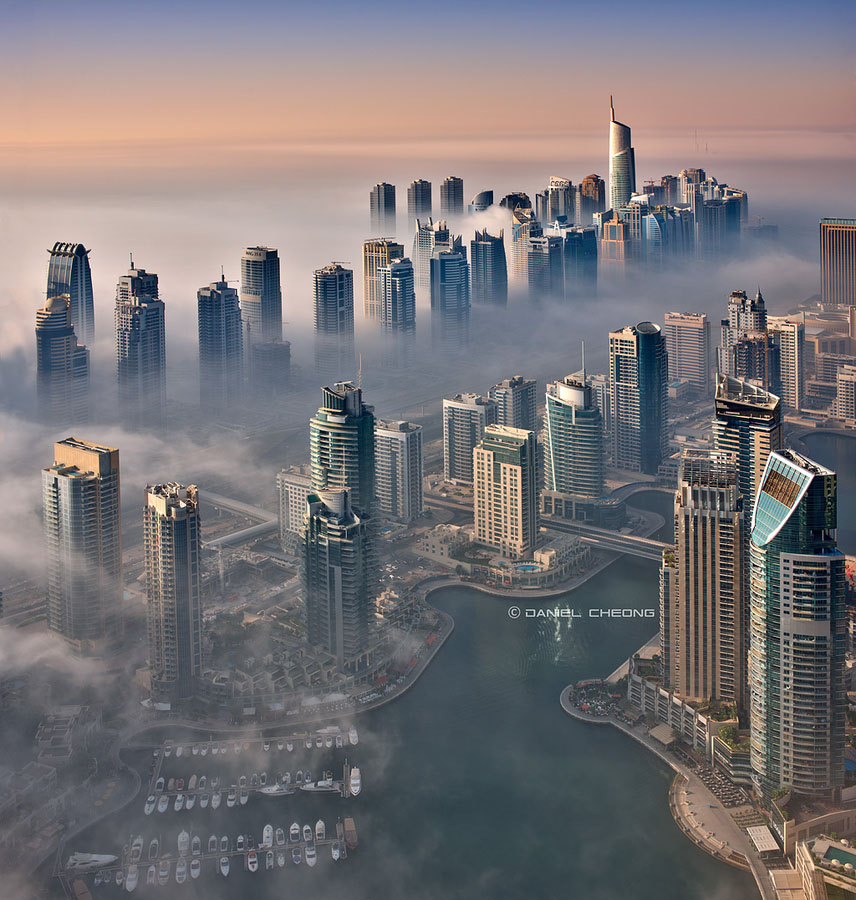 Городские пейзажи. Фотограф Daniel Cheong