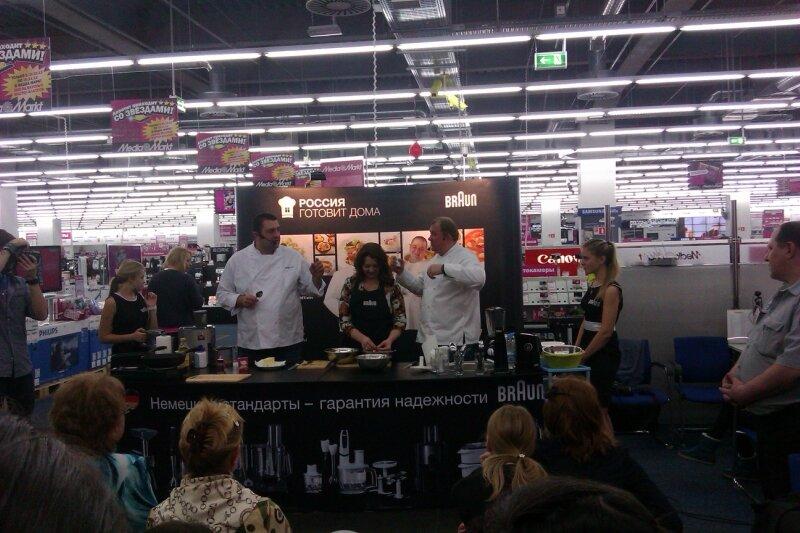 кулинарный мастер класс с Юрием Рожковым и Константином Ивлевым