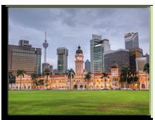 Малайзия. Куала-Лумпур. Площадь Независимости (Dataran Merdeka). Фото elwynn - Depositphotos