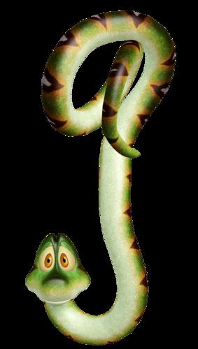 Картинки детские змея