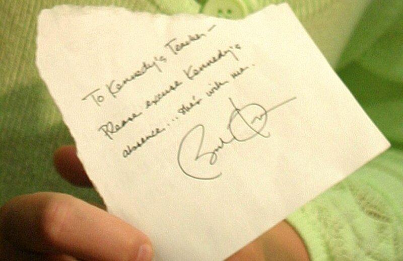 Угадайте, кто написал эту записку?