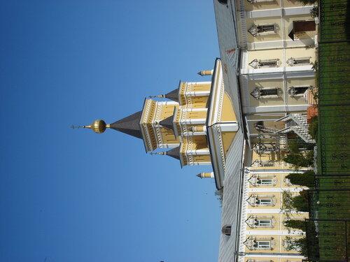 Скорбященский больничный храм Николо-Угрешского монастыря