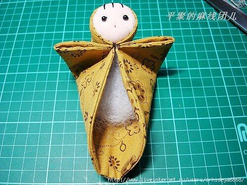 Японская кукла мастер класс сделай сам #8